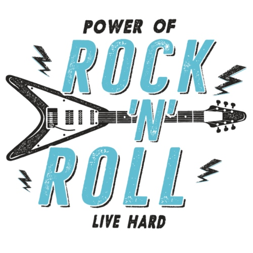 Rock n Roll - Männer Premium T-Shirt