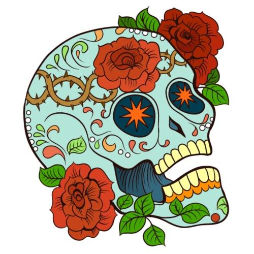 Mexican Skull 5 - Maglietta Premium da uomo