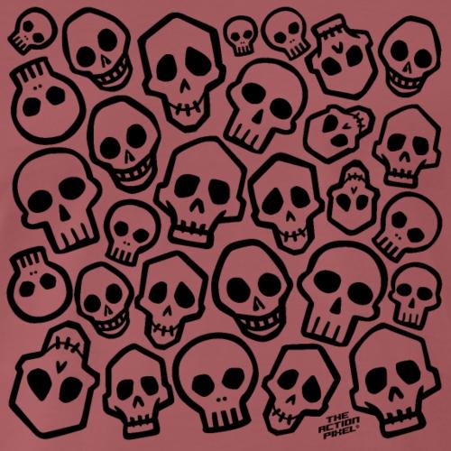 Skull Head Hunter - Men's Premium T-Shirt
