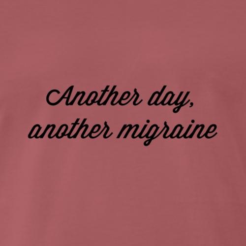migraine - Mannen Premium T-shirt