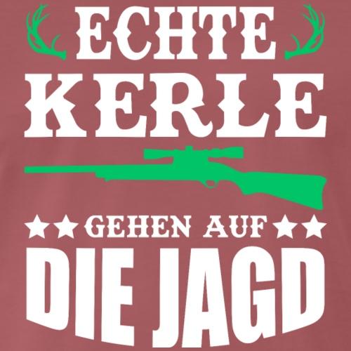 ECHTE KERLE GEHEN AUF DIE JAGD