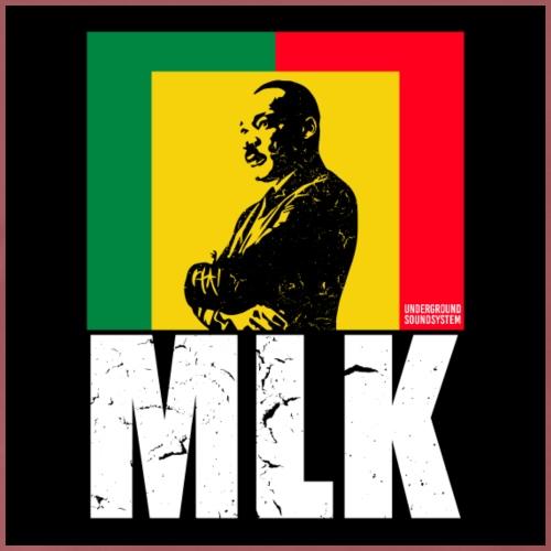 Martin Luther King Rastafari - Männer Premium T-Shirt