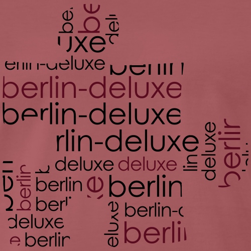 Berlin Deluxe Puzzle Motiv - Männer Premium T-Shirt