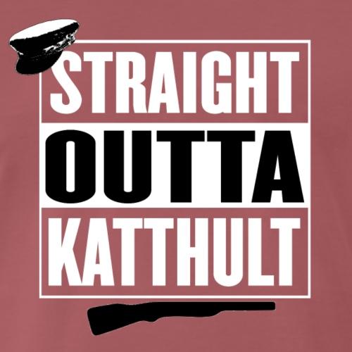 Katthult - Premium-T-shirt herr