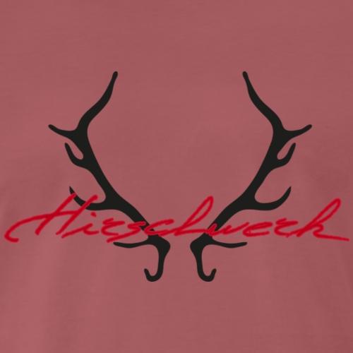 Hirschwerk Geweih - Männer Premium T-Shirt