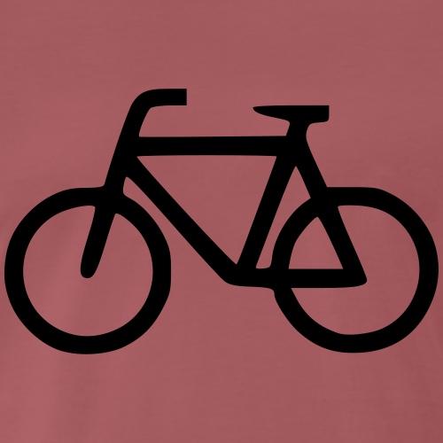 Fahrradlogo - Männer Premium T-Shirt