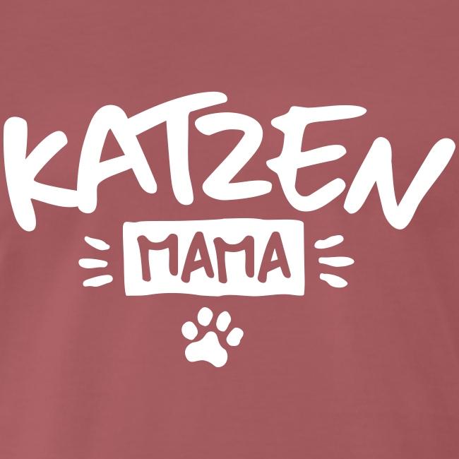Vorschau: Katzen Mama - Männer Premium T-Shirt