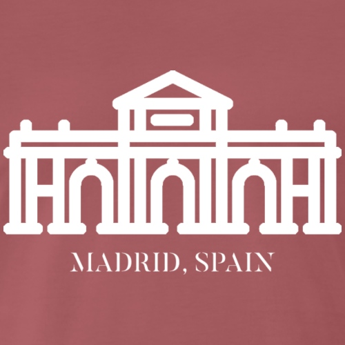 ALCALA GATE MADRID SPAIN WHT - T-shirt Premium Homme