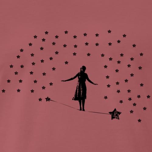 Slackline in the stars - Men's Premium T-Shirt