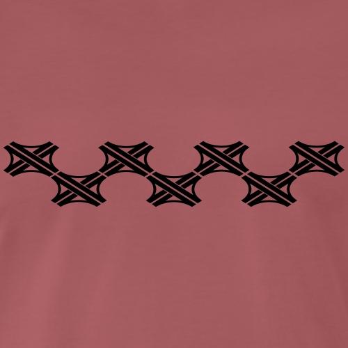 Autobahnkreuz Banner 9 - Männer Premium T-Shirt