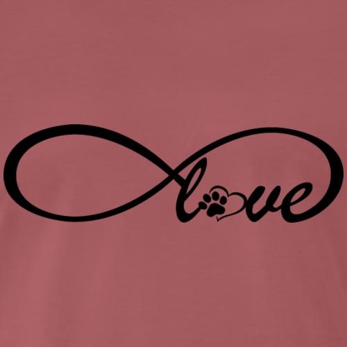 infinite love - Männer Premium T-Shirt