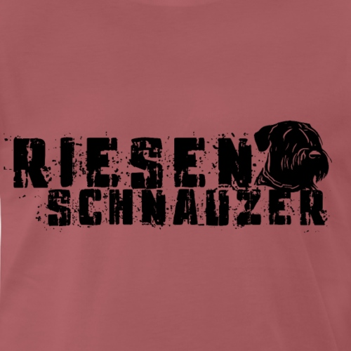 Riesenschnauzer/ Schnauzer Hunde Design Geschenk