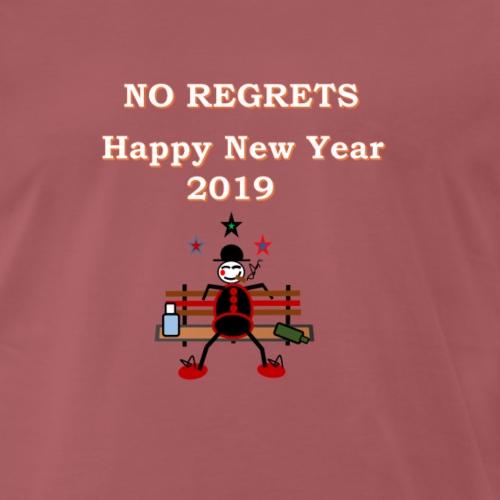 no regrets - Männer Premium T-Shirt