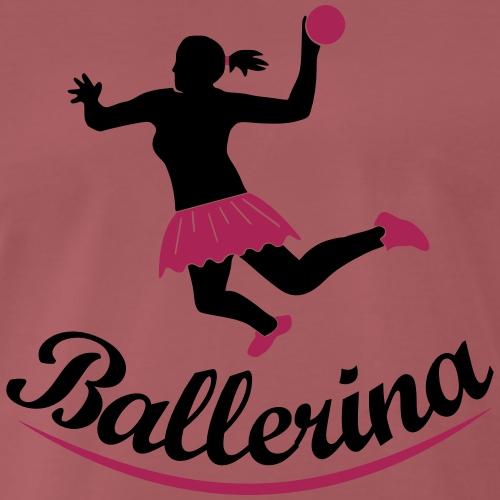 Handballerin Ballerina - Männer Premium T-Shirt