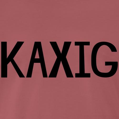 KAXIG - Premium-T-shirt herr