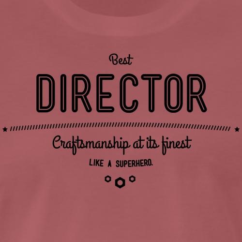 Bester Direktor - Handwerkskunst vom Feinsten, wie - Männer Premium T-Shirt