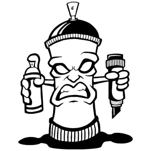 Graffiti Spraydose - Männer Premium T-Shirt