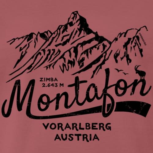 Montafon Zimba Shop - Men's Premium T-Shirt