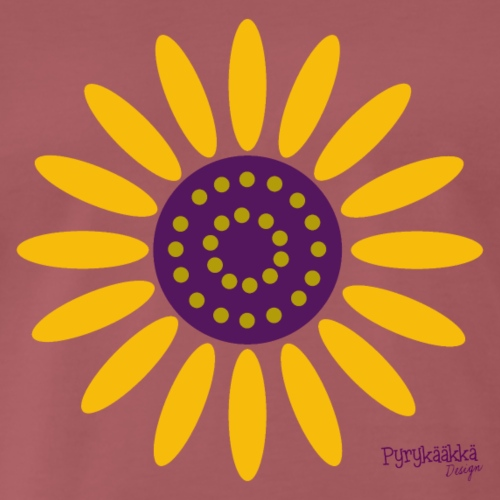 sunflower - Miesten premium t-paita