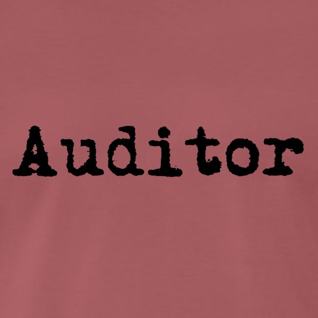 auditor typewriter black