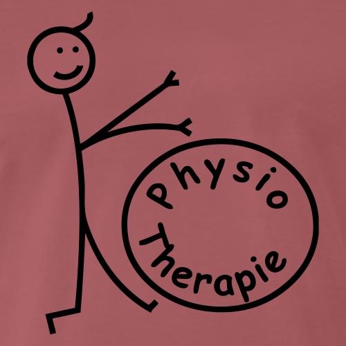 Physiotherapie rollt - Männer Premium T-Shirt