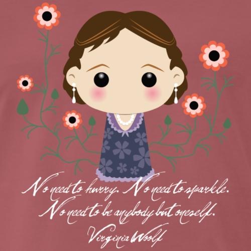 Virginia Woolf citazione [ENG] - Maglietta Premium da uomo