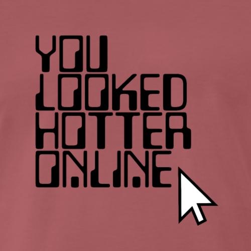 internet fake party nerd shirt - Männer Premium T-Shirt