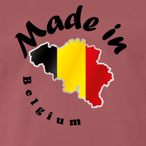 Made in Belgium, idée cadeau - T-shirt Premium Homme