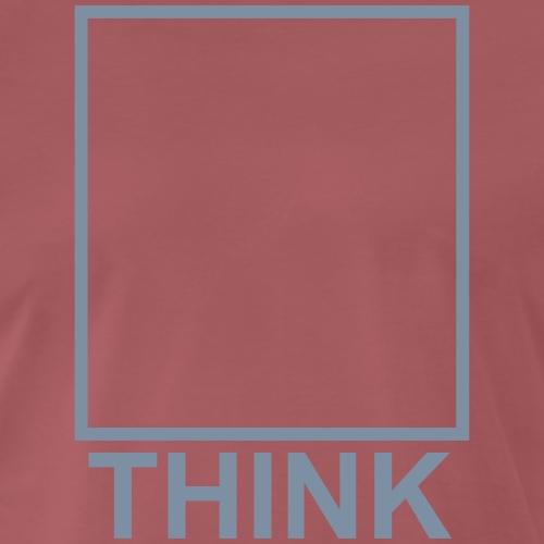 THINK OUTSIDE THE BOX - Männer Premium T-Shirt