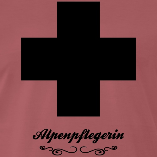 Alpenpflegerin - Männer Premium T-Shirt
