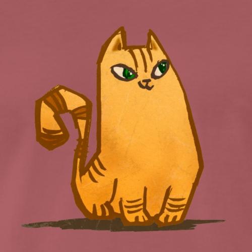 Katt - Premium-T-shirt herr