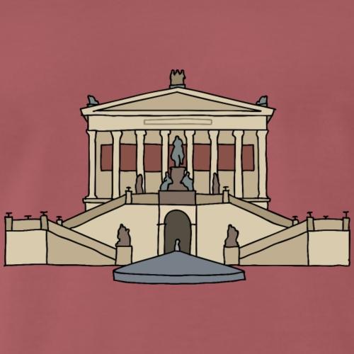 Alte Nationalgalerie BERLIN - T-shirt Premium Homme