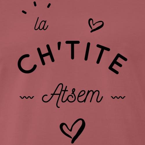 La ch'tite atsem - T-shirt Premium Homme