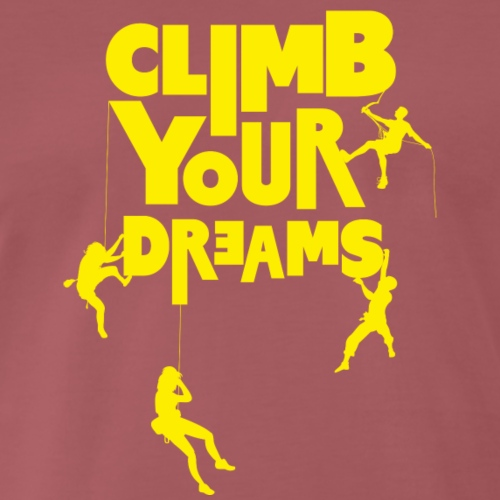 Scale your dreams - Men's Premium T-Shirt