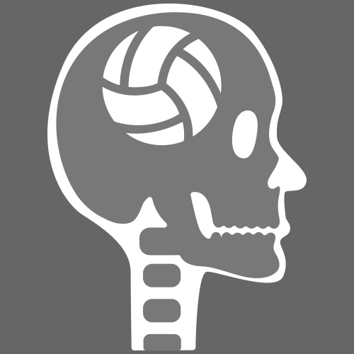 Volleyball im Kopf - Männer Premium T-Shirt