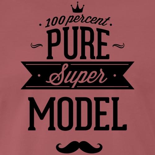100 Prozent Supermodel - Männer Premium T-Shirt