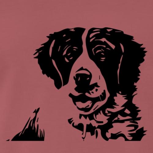 Barry - St-Bernard dog - Männer Premium T-Shirt