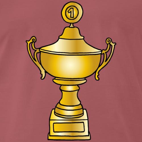 Gold Pokal - Männer Premium T-Shirt