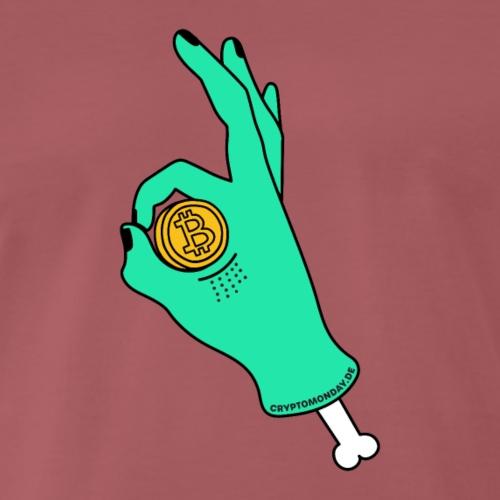 Alles in Bitcoin - Männer Premium T-Shirt