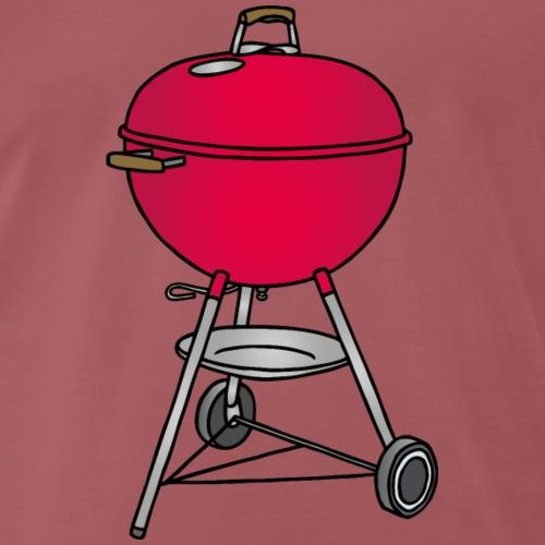 Grill BBQ c - Männer Premium T-Shirt