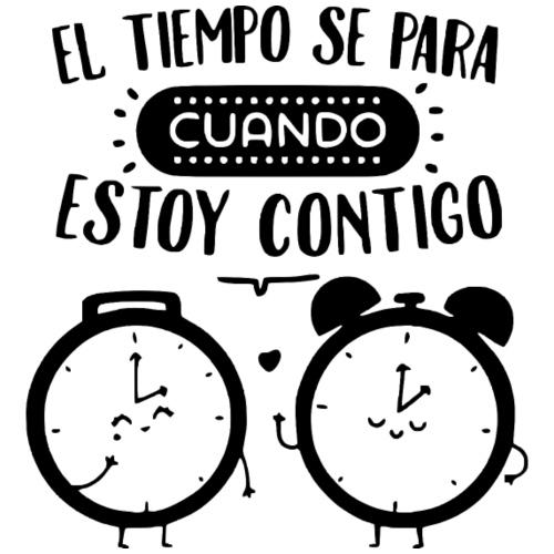 El Tiempo se Detiene - Camiseta premium hombre