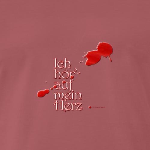 Ich hör' auf mein Herz - in rot