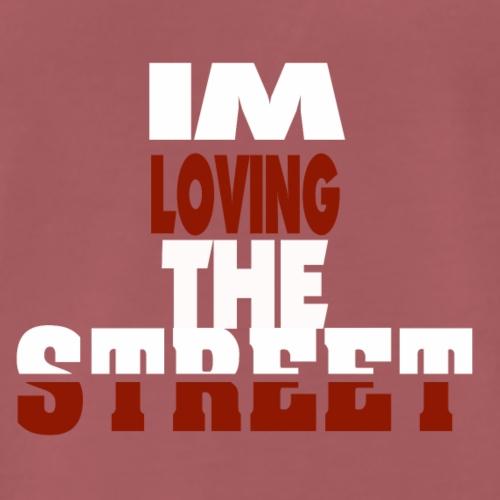 IMLOVINGTHESTREET - Herre premium T-shirt