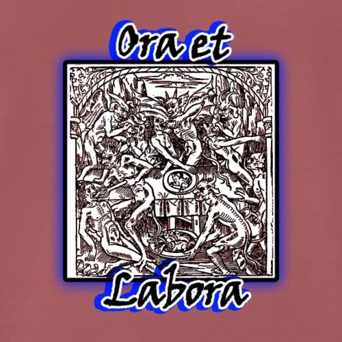 Ora et Labora - Camiseta premium hombre