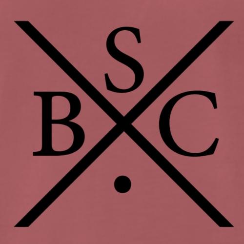 Cross BSC Logo - Men's Premium T-Shirt