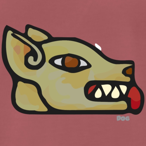 Aztec Icon Dog - Men's Premium T-Shirt