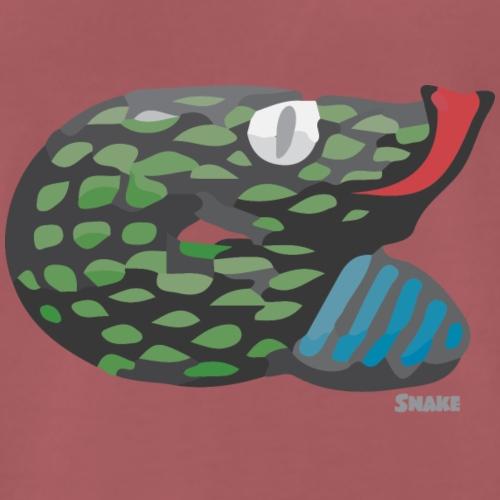 Aztec Snake - Men's Premium T-Shirt