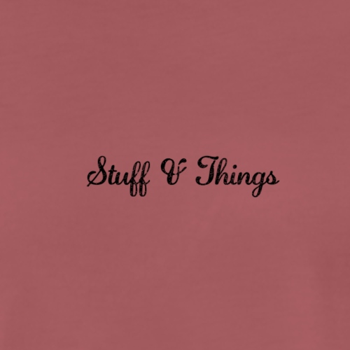 Stuff & Things - Men's Premium T-Shirt