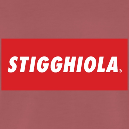 STIGGHIOLA ORIGINALS NEW BRAND - Maglietta Premium da uomo