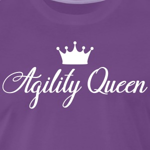AGILITY QUEEN - Premium T-skjorte for menn